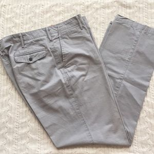 Dockers D2 Straight Fit Gray Pants, 36x32